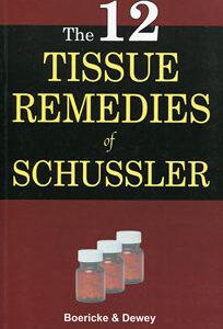 Boericke W. / Dewey W.A. - The Twelve Tissue Remedies of Schussler