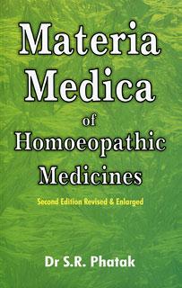 Phatak S.R. - Materia Medica of Homoeopathic Medicines