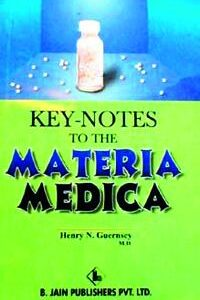Guernsey H.N. - Keynotes to the Materia Medica