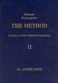 Saine A. - Seminar Homeopathy, Vol. II: The Method