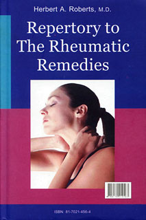 Roberts H.A.- Repertory to The Rheumatic Remedies