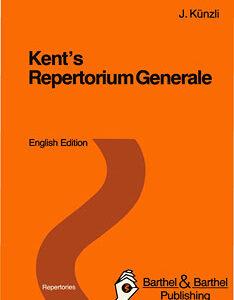 Künzli J. - Kent's Repertorium Generale English Edition standard