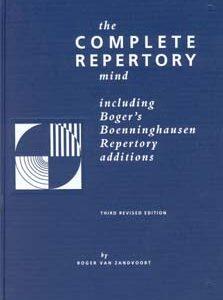 Zandvoort R. van - The Complete Repertory Mind - Hardcover