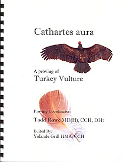 Rowe T. - Cathartes aura - A proving of Turkey Vulture