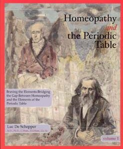 De Schepper L. - Homeopathy and the Periodic Table - Braving the elements; bridging the gap between homeopathy and the elements of the Periodic Table - Volume 1