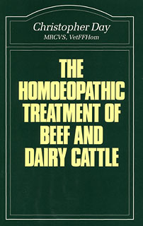 Day C. - The Homoeopathic Treatment of Beef and Dairy Cattle