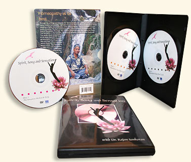 DVD - Sankaran R. - Spirit, Song and Sensation - Video seminar with Powerpoints and a elaborate case of Lyme disease