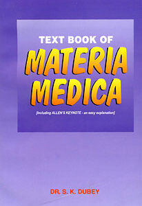Dubey S.K. - Text Book of Materia Medica - including Allen's Keynotes- easy explanation