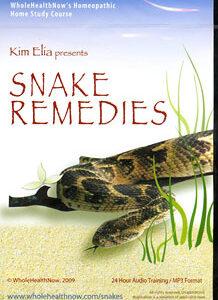 Elia K. - Snake Remedies