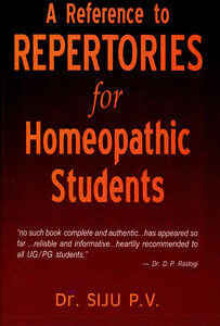 Siju P.V. - A Reference to Repertories for Homeopathic Students