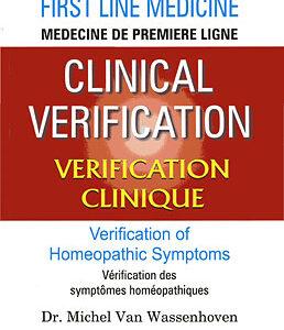 Wassenhoven M.V. - Clinical Verification - First Line Medicine