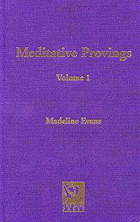 Evans M. - Meditative Provings Volume 1