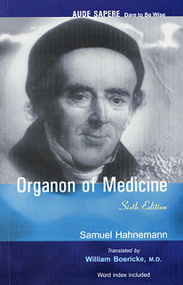 Hahnemann S. - Organon of Medicine - Sixth Edition Translated by William Boericke, M.D.