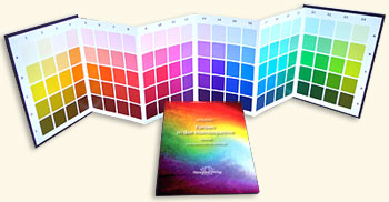 Welte U. - Colors in Homeopathy Set - Color charts and Textbook with Repertory