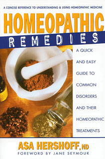 Hershoff A. - Homeopathic Remedies - A quick and easy guide to common disorders and their homeopathic treatments