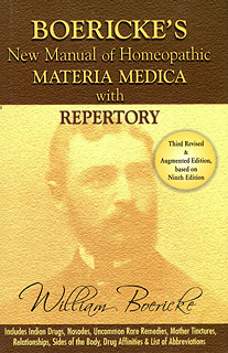 Boericke W. - Boericke's New Manual of Homoeopathic MM with Repertory. Includes Indian Drugs, Nosodes, Uncommon Rare Remedies, Mother Tinctures, Relationships, Sides of the Body, Drug Affinities & List of Abbreviations.