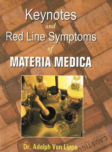 Lippe A. - Keynotes and Red Line Symptoms of the Materia Medica