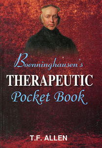 Allen T.F. - Boenninghausen's Therapeutic Pocket Book