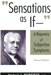 Roberts H.A. - Sensations As If - A Repertory of Subjective Symptoms