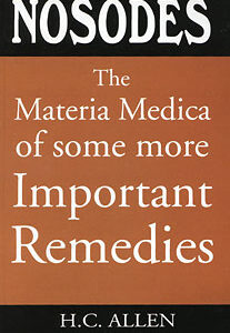 Allen H.C. - The Materia Medica of some more Important Remedies