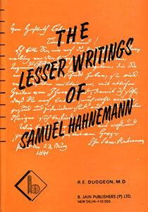 Dudgeon R.E. / Hahnemann S. - The Lesser Writings of Samuel Hahnemann