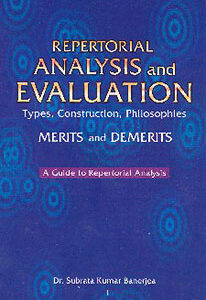 Banerjea S.K. - Repertorial analysis and evaluation