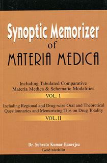 Banerjea S.K. - Synoptic Memorizer of Materia Medica