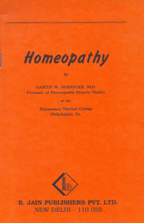 Boericke G.W. - Homeopathy
