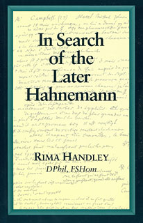 Handley R. - In Search of the Later Hahnemann