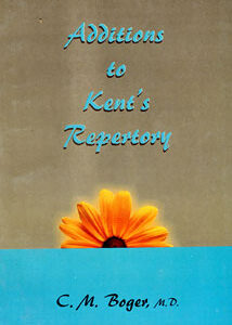 Boger C.M. - Additions to Kent's Repertory