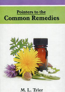 Tyler M.L. - Pointers to the Common Remedies