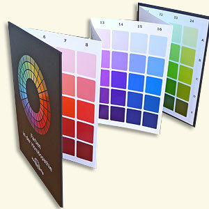 Welte U. - Colors in Homeopathy - 3. Edition - Color charts