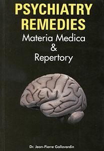 Gallavardin J.P. - Psychiatry Remedies - Materia Medica & Repertory