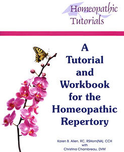 Allen K. - A Tutorial and Workbook for the Homeopathic Repertory - Second edition included on CD-ROM