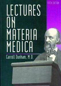 Dunham C. - Lectures on Materia Medica